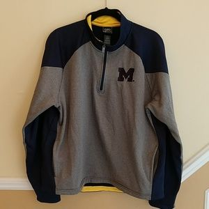 Michigan Campus Den 1/4 Zip Jacket